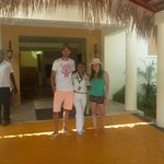 Con nuestra mayordoma Manuela