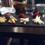 Cheese Platter with Chutney