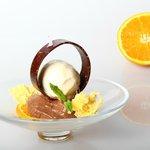 chocolate , naranja , cacahuete