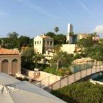 panoramica dalla terrazza