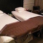 Standard dobbeltrom med enkeltsenger