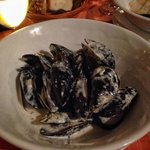 mussels in white wine creamy sauces - must try