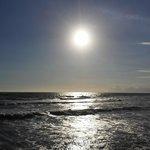Riflessi crepuscolari (la spiaggia al tramonto).