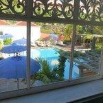 Pool frm balcony