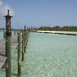 Walkway from Water Villas to Island