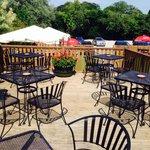 Our beautiful Beer Garden....