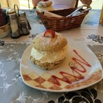 Tasty Scones @ The Cozy Cafe.