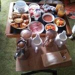 exemple de petit déjeuner en chambre