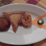 asmara - antipasto - felafel sambussa kategna