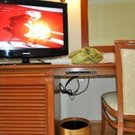 The Desk & TV