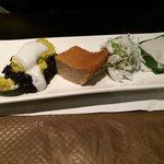 Assortiment dessert dont Taro et Flan Thai