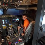 Alex in the 737
