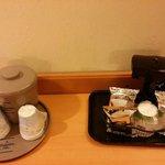 Mini coffee station
