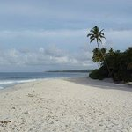 One of Fuvahmulah's beautiful beaches