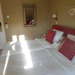 Ruime kamer met goede bedden