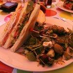 Cockerel Club Sandwich