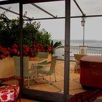 2nd Floor Room with Terrace Overlooking the Sea