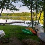 Boats & Fishing Pier at Otter Lake