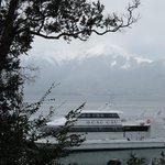 Puerto en Isla Victoria - Catamarán CauCau