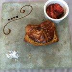 Foie Poêlé sur pain d'épices