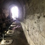 Elevator Shafts - underground to lift animals to the stage of the Colsseum