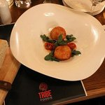 Mozarella Risotto balls at Brasserie Sixty6 - TRIBEfoodie Tuesdays
