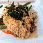 Crab Encrusted Grouper