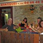 Santé et Bon Appetit à nos clients Belge