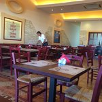 Clean, bright restaurant!