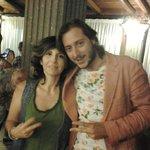 mia moglie con Mirko del grande fratello