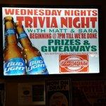 Wednesday trivia nights!