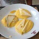 polenta con formaggi