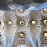 Inside of the basilica