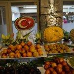 турецкий ужин, еда отменная