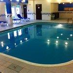 The beautiful indoor pool