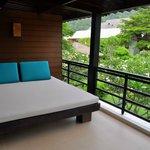 Balcony bed!