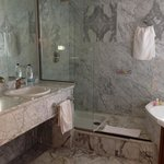 Beautiful marble bathrooms!