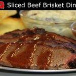 Sliced Brisket Dinner
