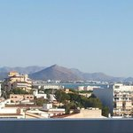 Bay of Alcudia from 5th floor balcony