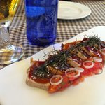 Tuna tare tare. Really good
