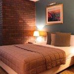 Room 16 interior, vintage comfort