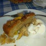 The peach cake....enough said...Mmmm