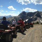 ATV's near Panorama Mountain Resort