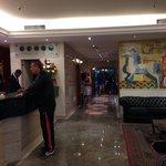 Recepção do hotel