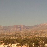 View of Red Rock from Hotel