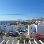 Mykonos Harbor from hotel