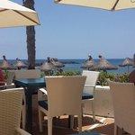 Beach club restaurant outside Sir Anthony