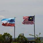 Malaysian & Sabah Flags