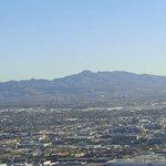 Montanhas que cercam a cidade