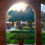 Courtyard of the Hotel Monastario